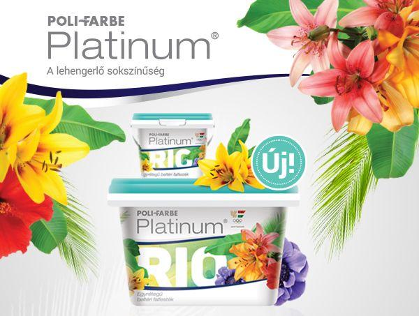 ÚJ - Platinum Rio, az őserdő színei a falakon